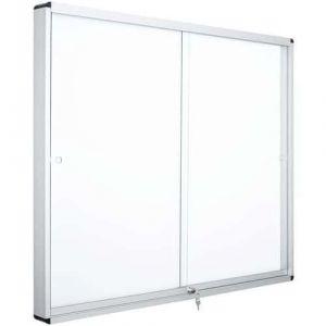 Vitrine intérieur 2 portes Manutan 926x967mm blanc,