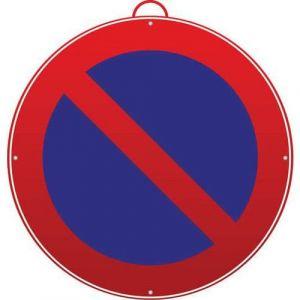 Panneau 'Stationnement interdit',