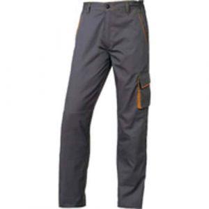 Pantalon Panostyle gris/orange XXXL,