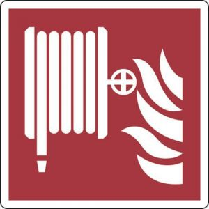 Panneau Robinet d'incendie armé 200X200 - Adhésif,