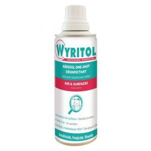 Wyritol désinfectant air et surface One shot - aérosol 150ml,