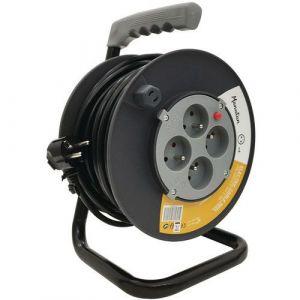 Enrouleur de câble électrique 50m NF - Manutan,