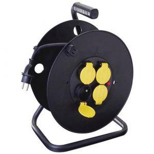 Enrouleur électrique de chantier IP44 40m NF- Manutan,