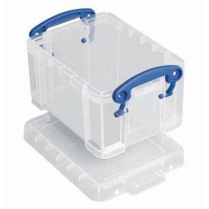 Bacs de rangement couvercle 0,3L transparent,