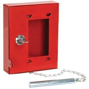 Boîte à clé de secours,