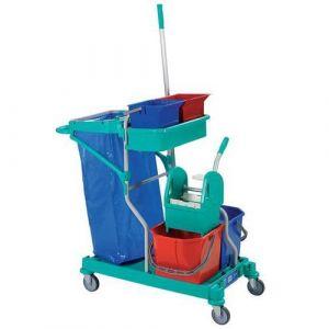 Chariot De Lavage Plastique Avec Presse