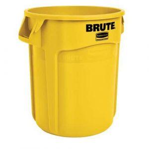 Conteneur Brute 76 L avec aération- jaune,