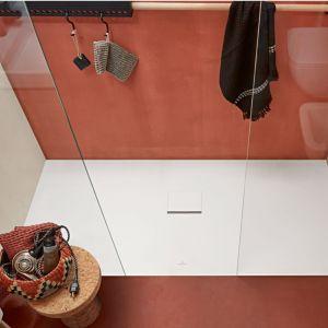 Villeroy et Boch - Receveur recoupable douche Squaro Infinity, 100 x 100, gris anthracite