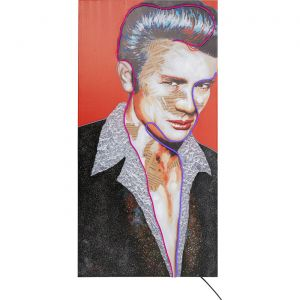 Tableau Touched Idol James Neon 160x80cm Kare Design