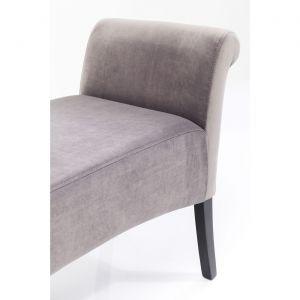 Banc Motley velours gris argenté Kare Design