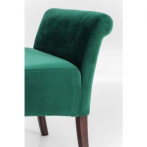 Banc Motley Fairy velours vert Kare Design