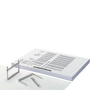 Staples Relieur d'archives métal - 5 cm - Boîte de 50