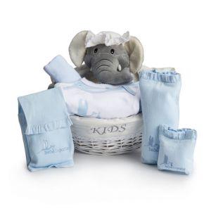 Les essentiels bleus pour bébé