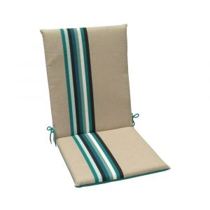 Coussins pour fauteuils haut dossier Samoa JARDIN PRIVÉ lagon