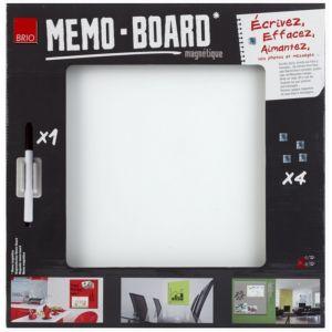 Mémo Board CEANOTHE Verre Gris Cl 40x40