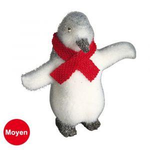 Pingouin de Noël H20 x 20cm