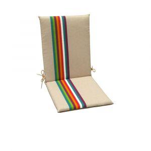 Coussins pour fauteuils haut dossier Samoa JARDIN PRIVÉ multi
