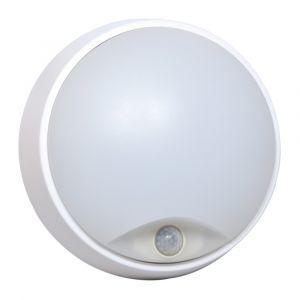 Hublot TIBELEC LED Rond avec Détecteur Blanc