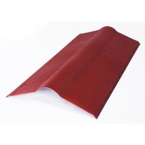 Faîtière ONDULINE Easyline1x0.50m Rouge