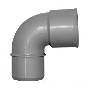 Coude PVC à coller JARDIBRIC mâle-femelle 45° d.40