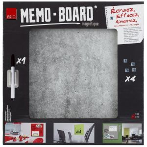 Mémo Board CEANOTHE Béton 40x40