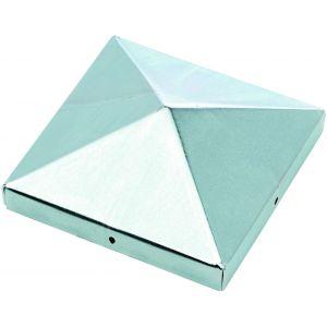 Chapeau de poteau pyramidal galvanisé 9 x 9 Burger
