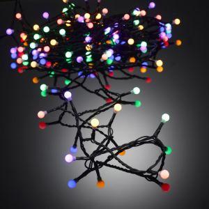 Guirlande de Noël Cerises 100 LED L.10m Multicolore