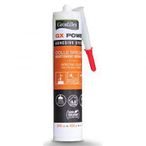 Colle GROSFILLEX GX Power tube pour revêtement PVC