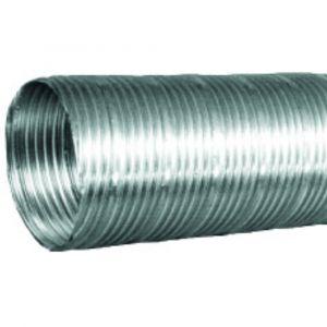 Gaine semi-rigide en aluminium HBH Diamètre 100mm longeur 3m