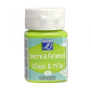 Peinture Lefranc & Bourgeois verre & faience opaque 50ml anisé