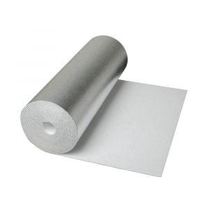 Isolant Réflecteur CLIMAPOR Contrecollé Aluminium pour Radiateur 5mx0,5mx4mm