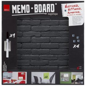 Mémo Board CEANOTHE Pierre Noire 40x40