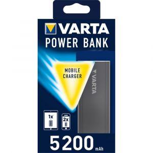 Batterie Externe Powerbank VARTA 5200 mAh Gris foncé