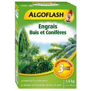 Engrais ALGOFLASH Floranid pour Buis et Conifères action longue durée 1,8kg