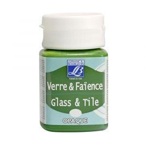 Peinture Lefranc & Bourgeois verre & faience opaque 50ml vert pur