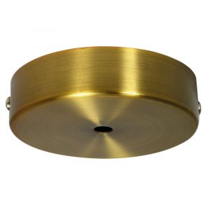 Pavillon Cache Fil TIBELEC métal bronze D.90mm