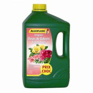Engrais Fleurs, Terrasses et Balcons ALGOFLASH 2,5 L
