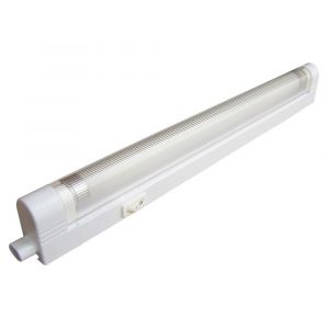Réglette Tube Fluo TIBELEC Blanche 356mm