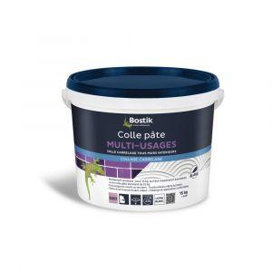 Colle Pâte BOSTIK Multi-usages D2ET pour Carrelage 15kg