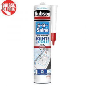 Mastic Sanitaire RUBSON SDB Saine Jointe&Colle transparent 280ml