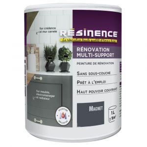 Peinture de Rénovation RÉSINENCE Multisupport 1L Magnet Satin