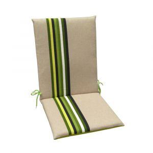 Coussins pour fauteuils haut dossier Samoa JARDIN PRIVÉ granny