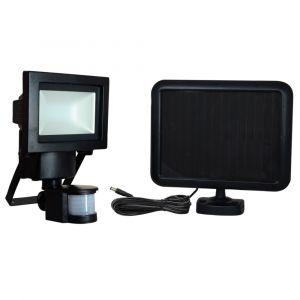Projecteur Solaire LED avec Détecteur de Mouvement TIBELEC 132x140x215mm