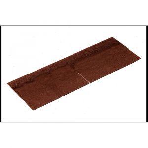 Bardeau bitumé plat brun