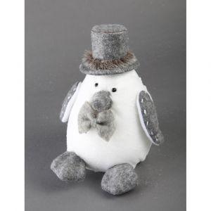 Pingouin de Noël 24cm