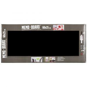 Memo Board Noir 25X60 BRIO