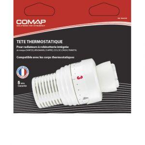 Tête Thermostatique COMAP Clip pour Radiateur à Robinetterie Intégrée