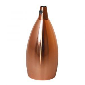 Douille E27 avec Cache-Douille TIBELEC métal cuivre D.47mm