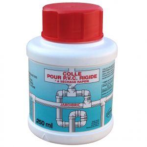 Pot de colle PVC JARDIBRIC avec pinceau 250 ml