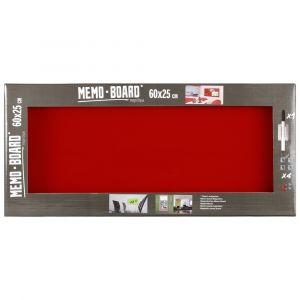 Memo Board Rouge 25X60 BRIO